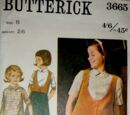 Butterick 3665 A