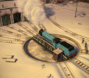 Frozen Turntable