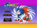 Sonic X Volume 2 AUS main menu.png