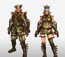 Frontier Generation Armor Set Renders (Front View)