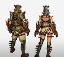 Frontier Generation Armor Set Renders (Back View)