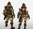 Frontier Generation Gunner Armor Set Renders