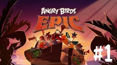 Angry Birds Epic - iPhone iPod Touch iPad Android - Walkthrough - Part 1