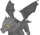 Baby steel dragon