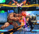 Arenas de Street Fighter x Tekken