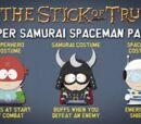 Super Samurai Spaceman Pack
