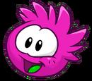 Magenta Puffle