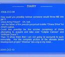 Gerald Robotnik's diary