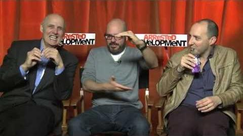 David Cross, Jeffrey Tambor And Tony Hale Interview -- Arrested Development Season 4