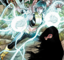 Noriko Ashida (Earth-616) and Sooraya Qadir (Earth-616) from X-Men Legacy Vol 1 262 0001.png