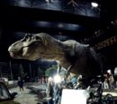 Tyrannosaurus rex animatronics (Jurassic Park)