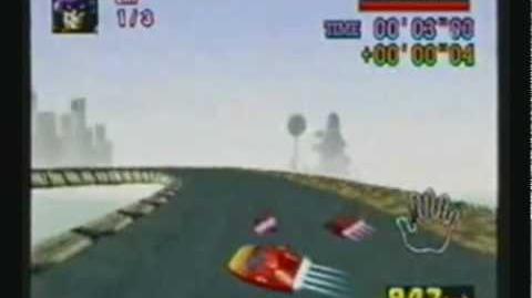 F-Zero X Sliding Boostsliding