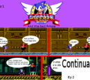 Sonic the Hedgehog and the Bad Future 1