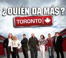 ¿Quién da más?: Toronto
