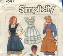 Simplicity 7647 A