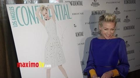 "Portia de Rossi Interview at LA Confidential Magazine ""Real Beauties"" Issue Celebration"
