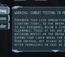 Combat Testing