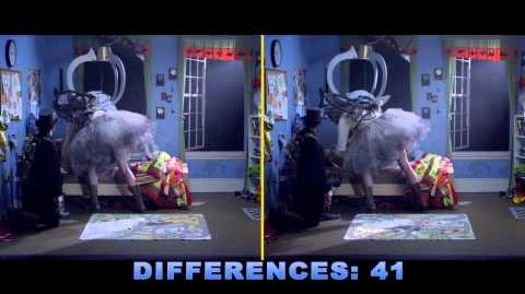Spot the Differences - ANSWER KEY
