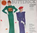 Butterick Fashion Book Fall 1933