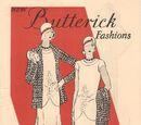 Butterick Fashions July 1929
