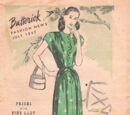 Butterick Fashion News July 1945