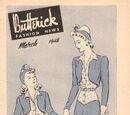Butterick Fashion News March 1942
