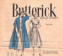 Butterick Printed Patterns May 1952