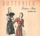 Butterick Fashion News September 1946