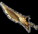 MH3U - Grande Epée - Epée en corne colère