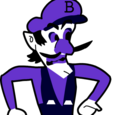 Looking like Waluigi