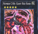 Number C106: Giant Red Hand