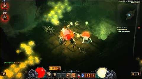 Reaper of souls Crusader Queen Araneae