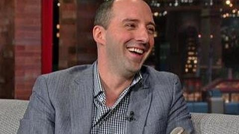 "David Letterman - Tony Hale on ""Arrested Development."""