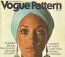 Vogue International Pattern Book June/July 1970