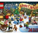 60063 Le calendrier de l'Avent City