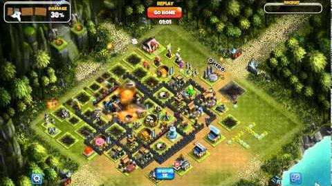Ninja Kingdom Attack using Steam powered Tanks