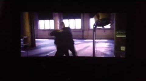 Four VS. Tris Fight Scene