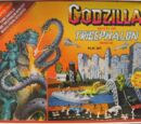 Godzilla Battles the Tricephalon Monster