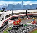 60051 Le train de passagers à grande vitesse