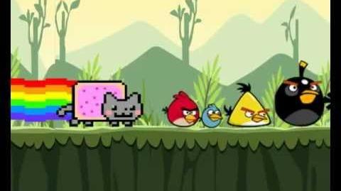 Angry Birds Nyan Cat (Original)