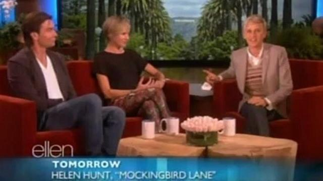 Portia de Rossi And Jerry O'Connell Interview Oct 23 2012