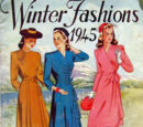 Australian Home Journal Winter Fashions 1945