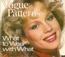 Vogue Patterns September/October 1978