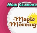 Maple Mornings