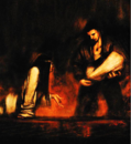 Silent Hill novel - Incubator and Harry Mason by Masahiro Ito (page 277).PNG