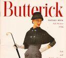 Butterick Pattern Book Fall-Winter 1956