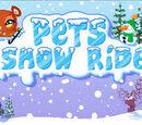 Pets Snow Ride