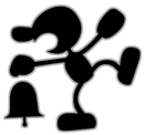Mr. Game & Watch Artwork SSBB.png