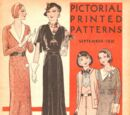 Pictorial Printed Patterns September 1931