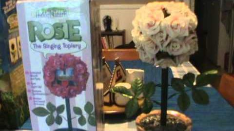Rosie the Singing Topiary